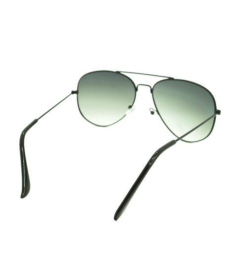 Skygge Original Aviator Black Frame Dual Shade Green Lens UV Protected Unisex Sunglasses