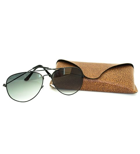 UV Protected Green Aviator Unisex Sunglasses