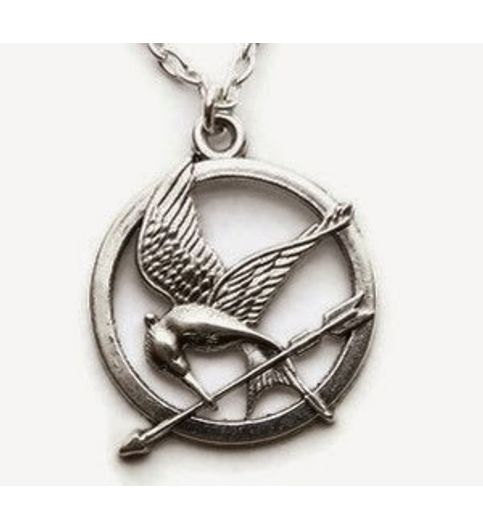 Buy the hunger games mockingjay silver necklace at 54 off online the hunger games mockingjay silver necklace aloadofball Images