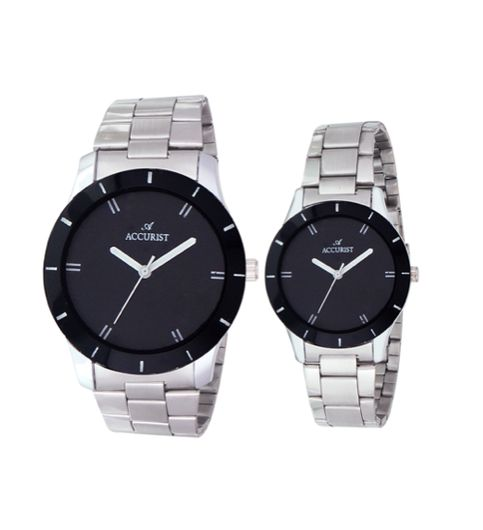 Accurist ACCW014 Analog Watch - For Couple