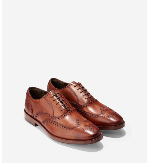 Rust street pure leather shoes