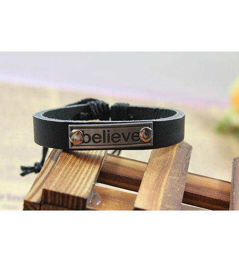 Believe Statement Bracelet