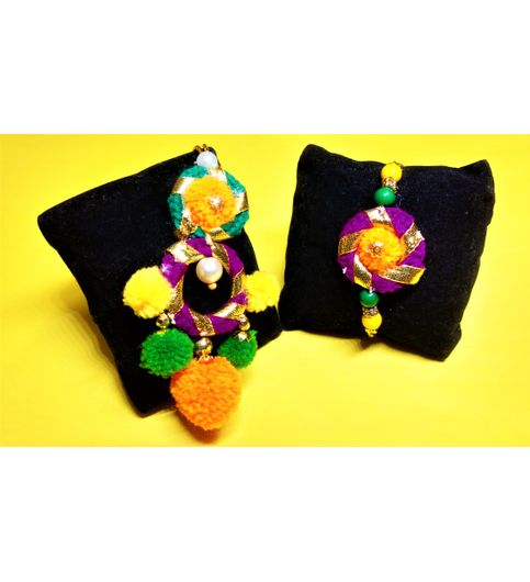 Om Creation Pair Rakhi ocr107