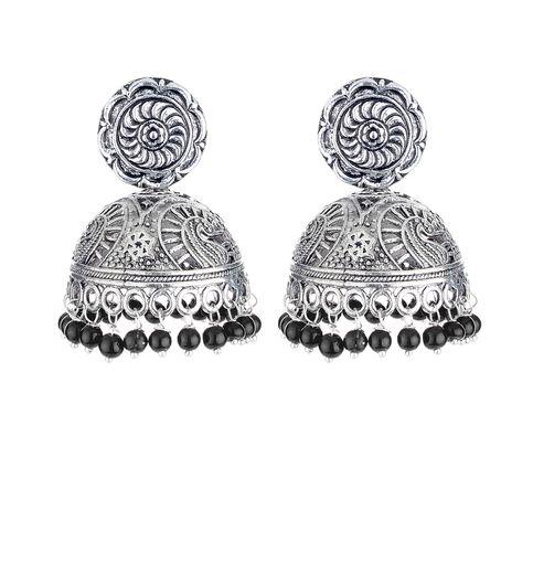 WATCH ME Banjara Boho pom Pom Trendy Fashionable Partywear Earrings Jhumki for Women Girls WMRPG-011