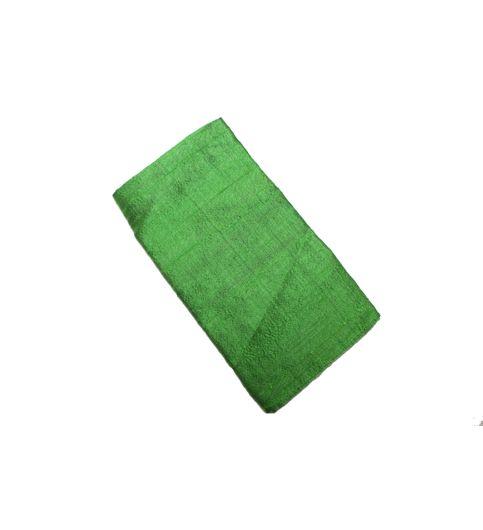 Mivera Green Cotton Pocket SquareMvragreen