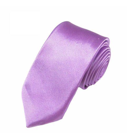 Mivera Purple Polyester Formal Skinny TiesNt2613