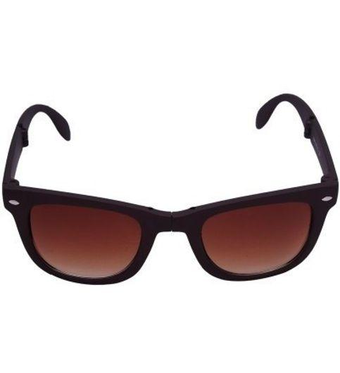 Pursho Wayfarer Wayfarer Sunglasses snglswyfrrbrw60