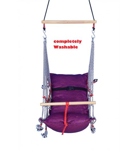 Kkriya Home Decor COMPETELY WASHABLE HANGING CHAIR AND HAMMOCK FOR KIDS
