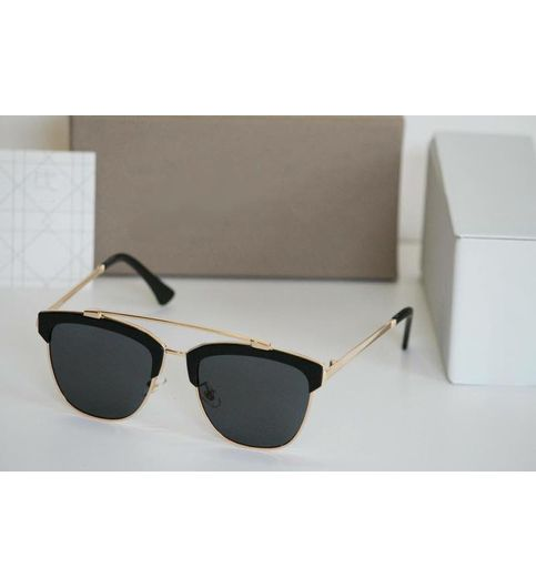 Stylish looking  Gold and Black Sunglasses for men