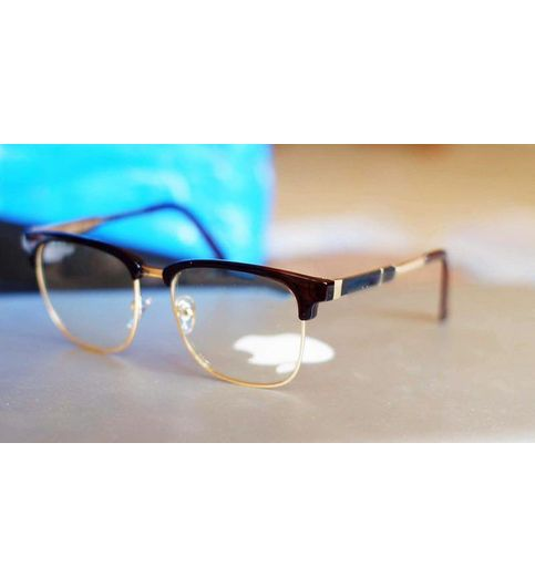 Stylish looking  Gold and Brown Sunglasses for men