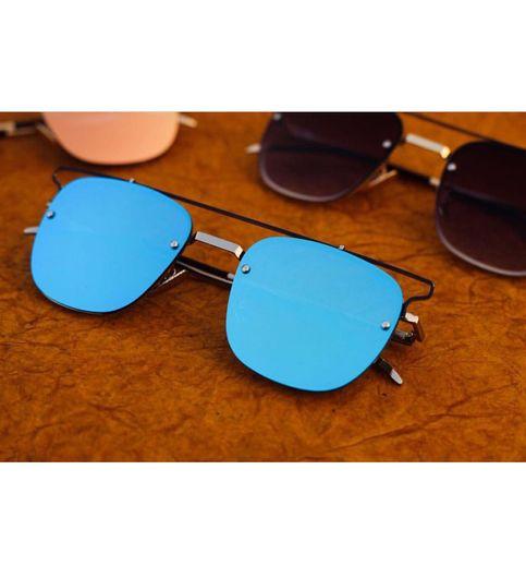 stylish looking Silver Blue  Sunglasses