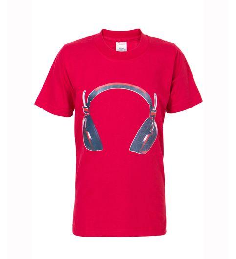 Ultrafit Junior Boys Cotton Red T-Shirt206