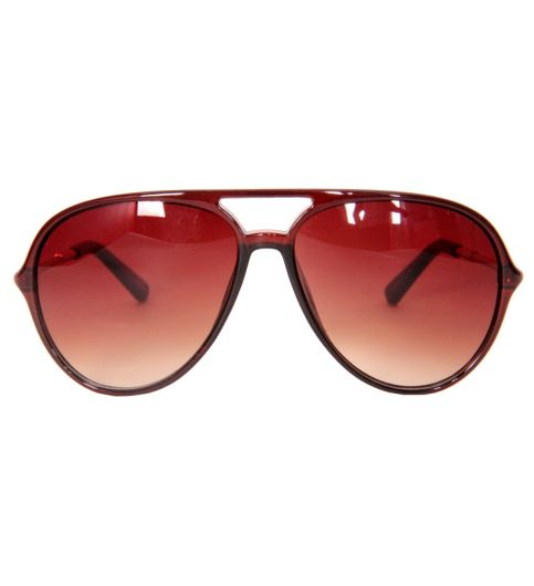 b1e3bdb6c34 Buy Al Azaan Retro 80s Sunglass Large Brown at Lowest Price -  ALAZRE32604CHV093931