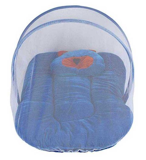 Top One Blue Nylon Mosquito Net  60 cm  40 cm