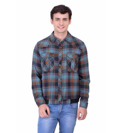 Men Multi Cotton Jacket