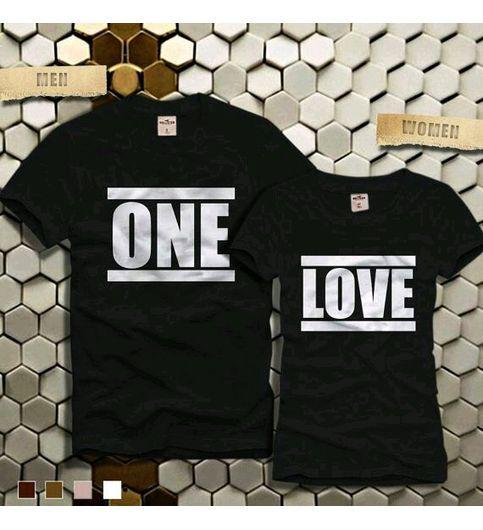 Couple One Love Tshirt