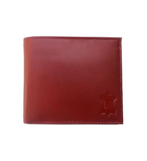 Leather Design Tan Leather Designer Zip Men Long Wallet