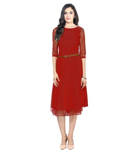 Exclusive Designer Red Dress