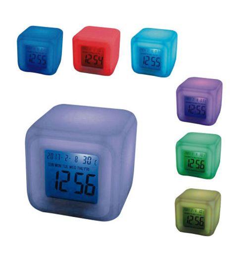 Glowing LED Color Change Digital Alarm Clock