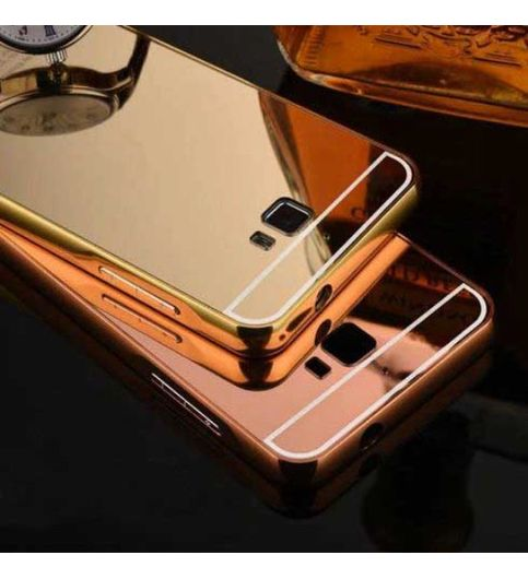 ... Vivo V3 Rose Gold. Aluminum Metal Bumper PC Mirror Back Cover Case For MICROMAX CANVAS NITRO A310 A311