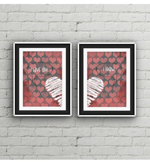 Love Poster Print Set