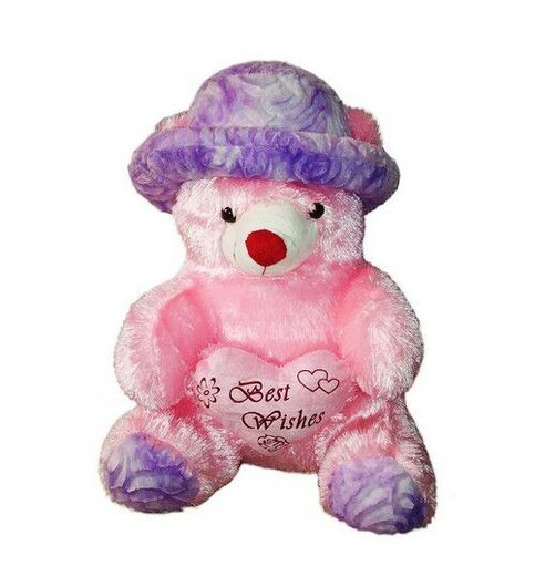 Soft Teddy With Cap 36