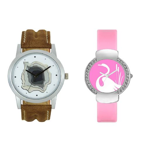 Klassy Collection letest collation fancy and attractive Analog Watch - For Couple