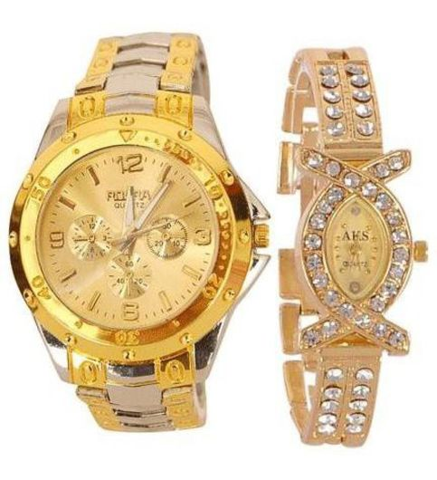 STOPNBUY Rosra sz0260 Analog Watch - For Couple