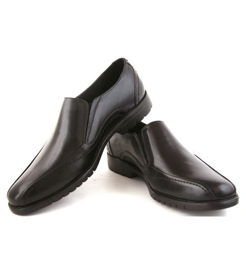 SCHUE MAKER Black Extra Light Men Formal Shoes-107