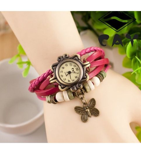 Pink Women Wrist Watch