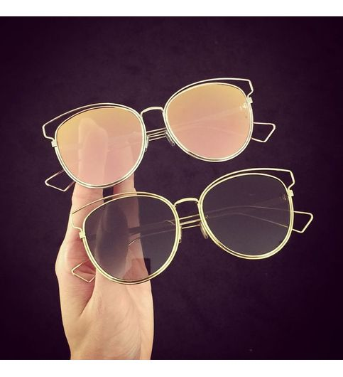 sunglasses black and pink combo Treyndy for Unisex