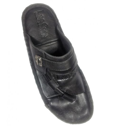 Leather slip-ons for mens