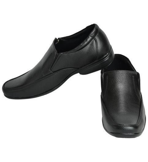 Ajanta Mens Formal Shoes - Black3