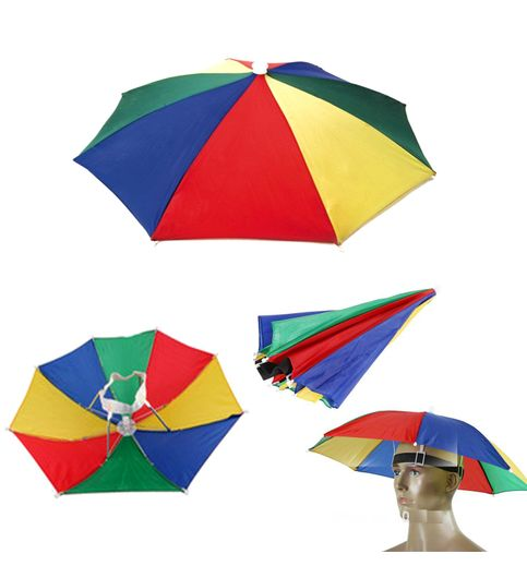 Hands Free Umbrella Hat To Protect From Sun  Rain For School Going Kids And Adults