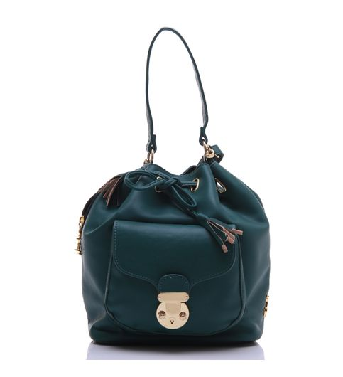 Don Cavalli Green PU Sling bag for Women 64