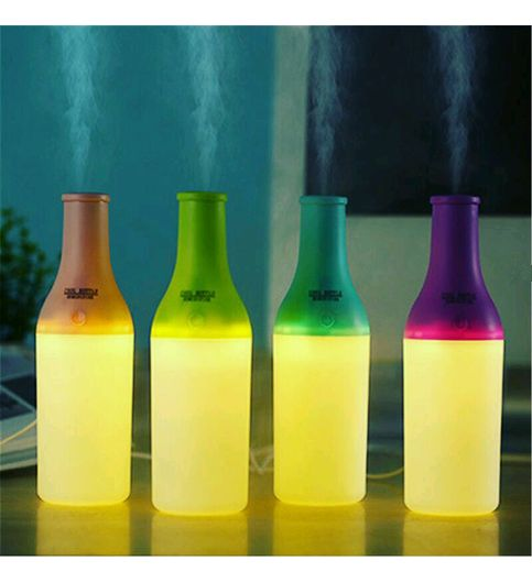 CREATIVE WINE BOTTLE DESIGN  HUMIDIFIER