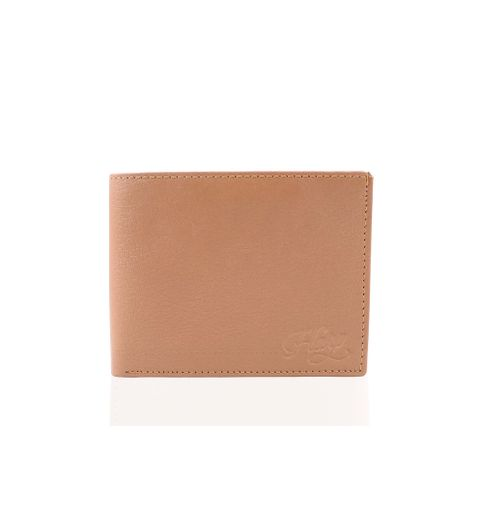 Harp Harp CREAM Color Leather Material Wallets