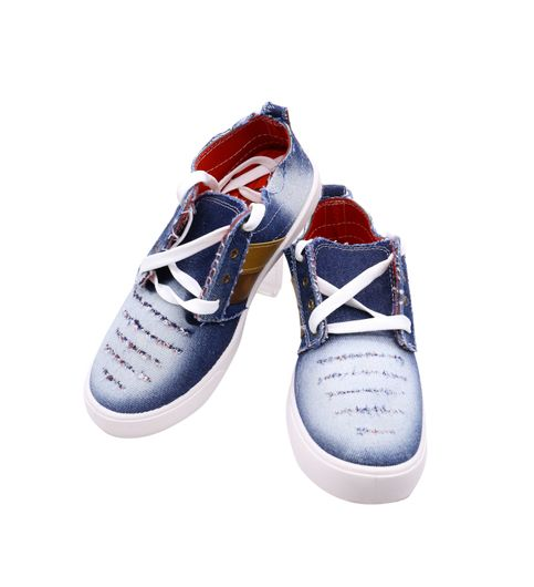footstair mens blue shoes