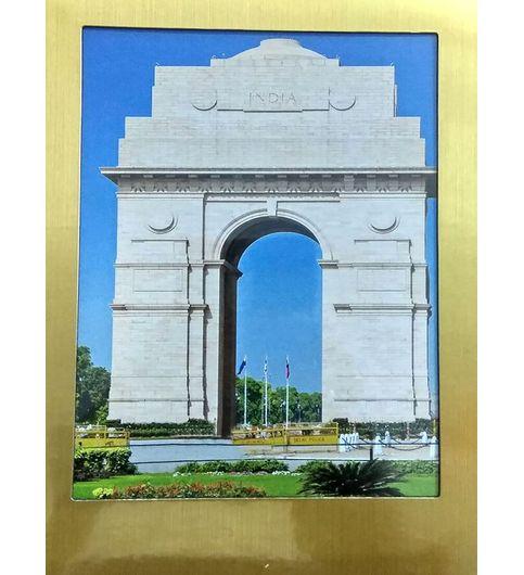 Khoozi Gold Glossy Plated Set of 5 pcs Photo Frame 314