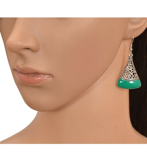 AD JEWELS FASHION JEWELLERY COLLECTION OXIDIZED EARRING FOR GIRLS  WOMENS BEST GIFT FOR EVERY BEAUTY ICON