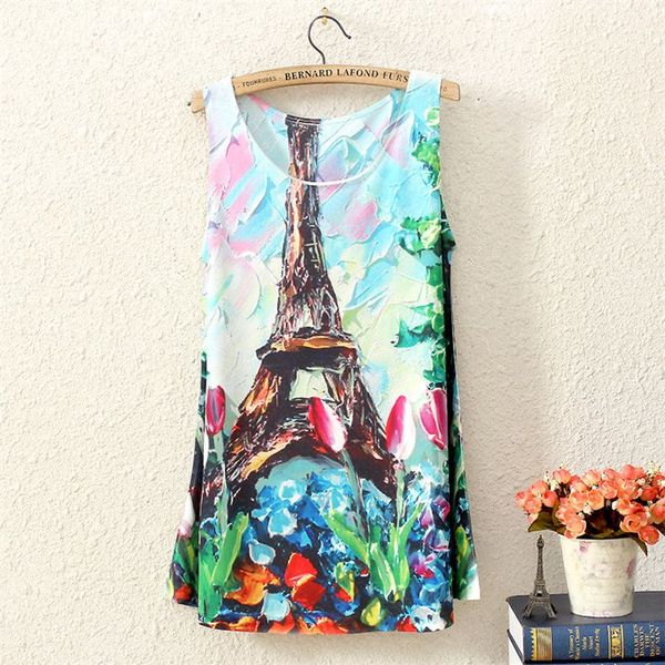 PARIS LOVE TANK TOP