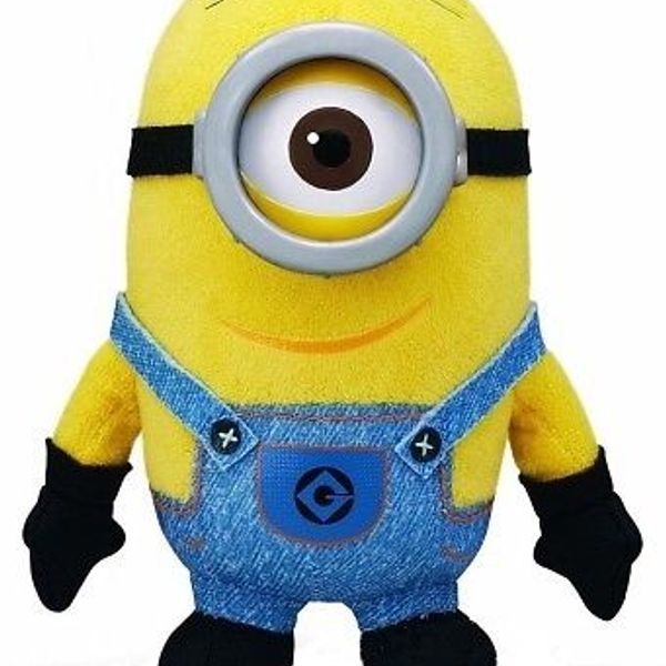 Yellow Doll Minion Single Eye Small 14 cms 3D Resin Eyes.