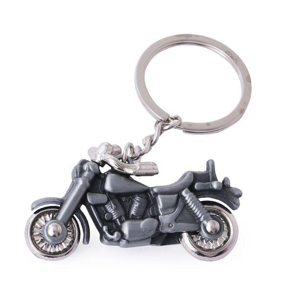 VINTAGE crafts  Bullet motor bike keychain grey