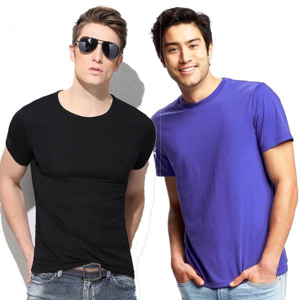 T-Shirt For Mens ComboTsh709Blkblu