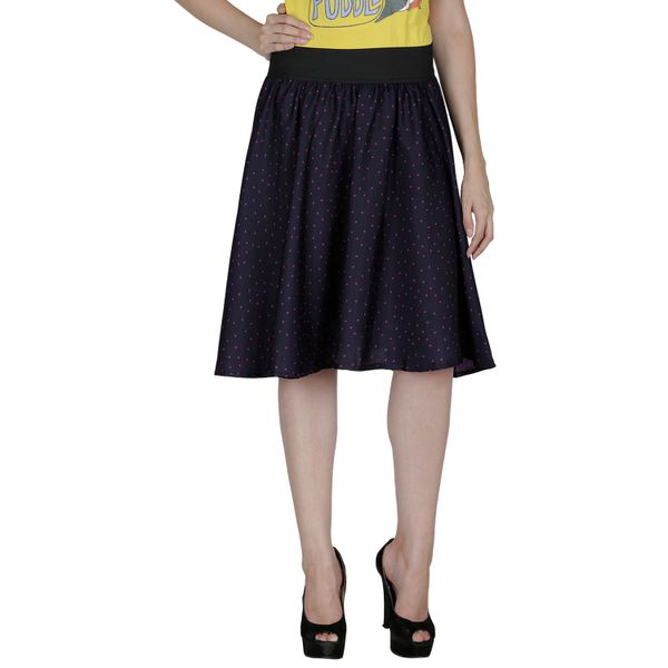 Shopingfever Printed Womens A-line Skirt sfsk610