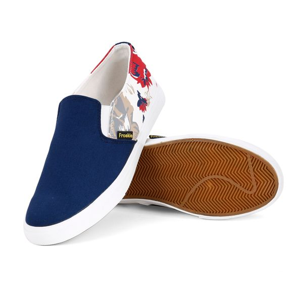 Froskie Vulcanised Canvas Casual ShoesFR-01-Blue