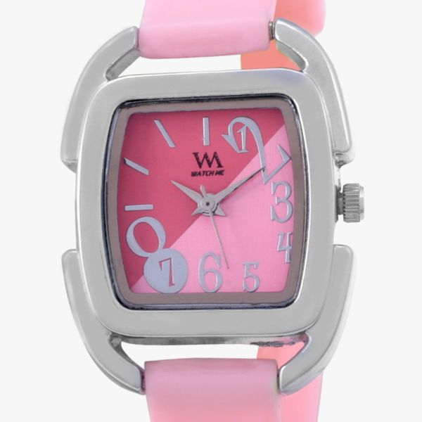 Watch Me Black Leather Analogue Watch for Women118