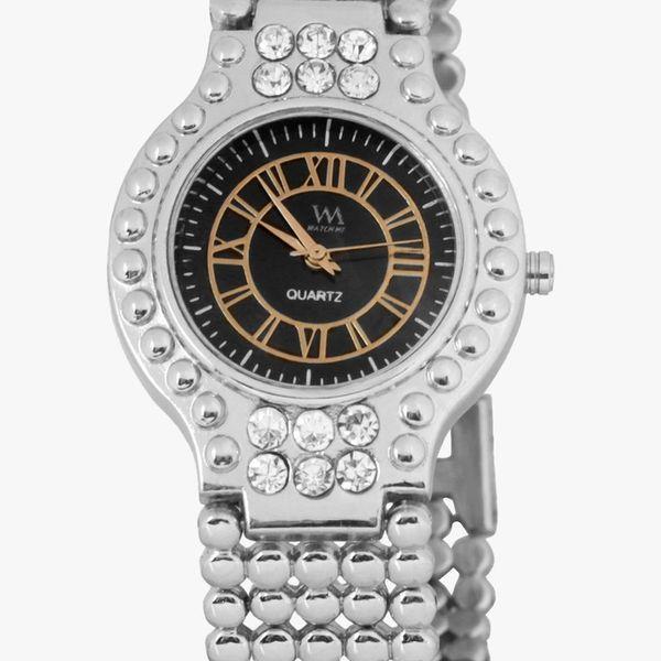 Watch Me Black Women Metal Swiss Wrist Watch Watch Me-051-Bx