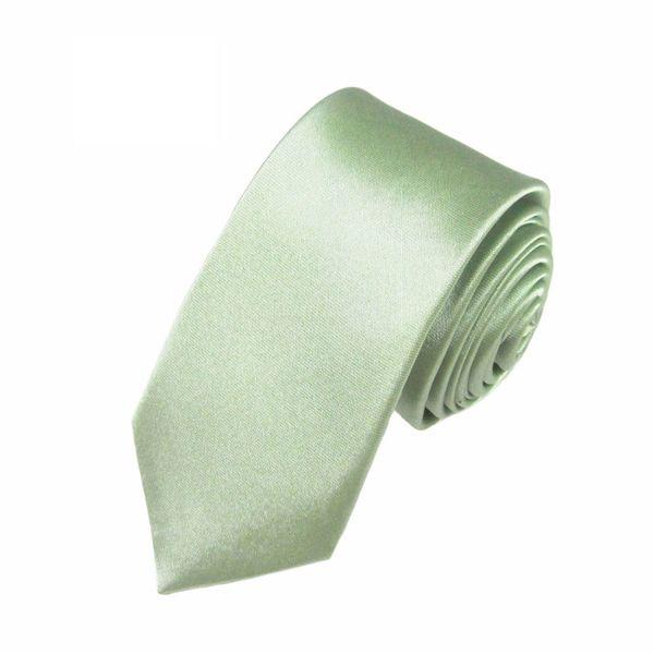 Mivera Green Micro Fiber Skinny TieExcluNt2611
