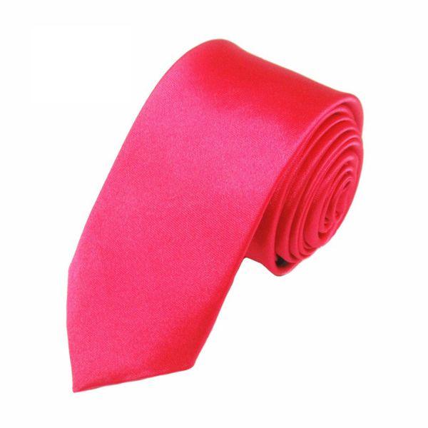 Mivera Pink Micro Fiber Skinny TieExcluNt2617